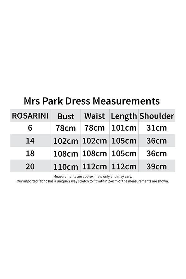 ms park dress size