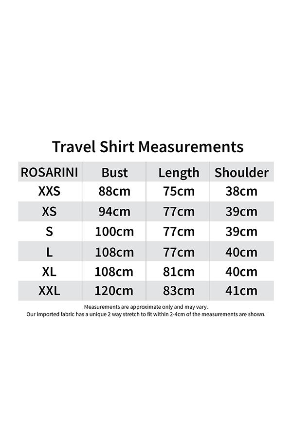 Travel Shirt - Women's Clothing -ROSARINI