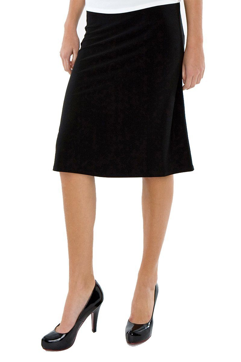 A-Line Midi Skirt - Women's Clothing -ROSARINI