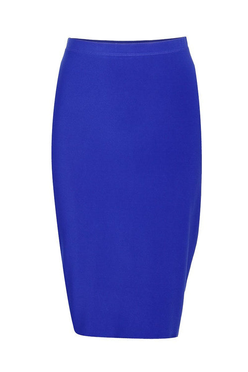 Women's Navy Basic Skirt Rosarini