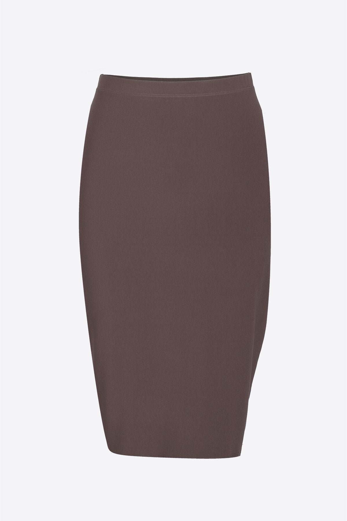 Women's Taupe Basic Skirt Rosarini