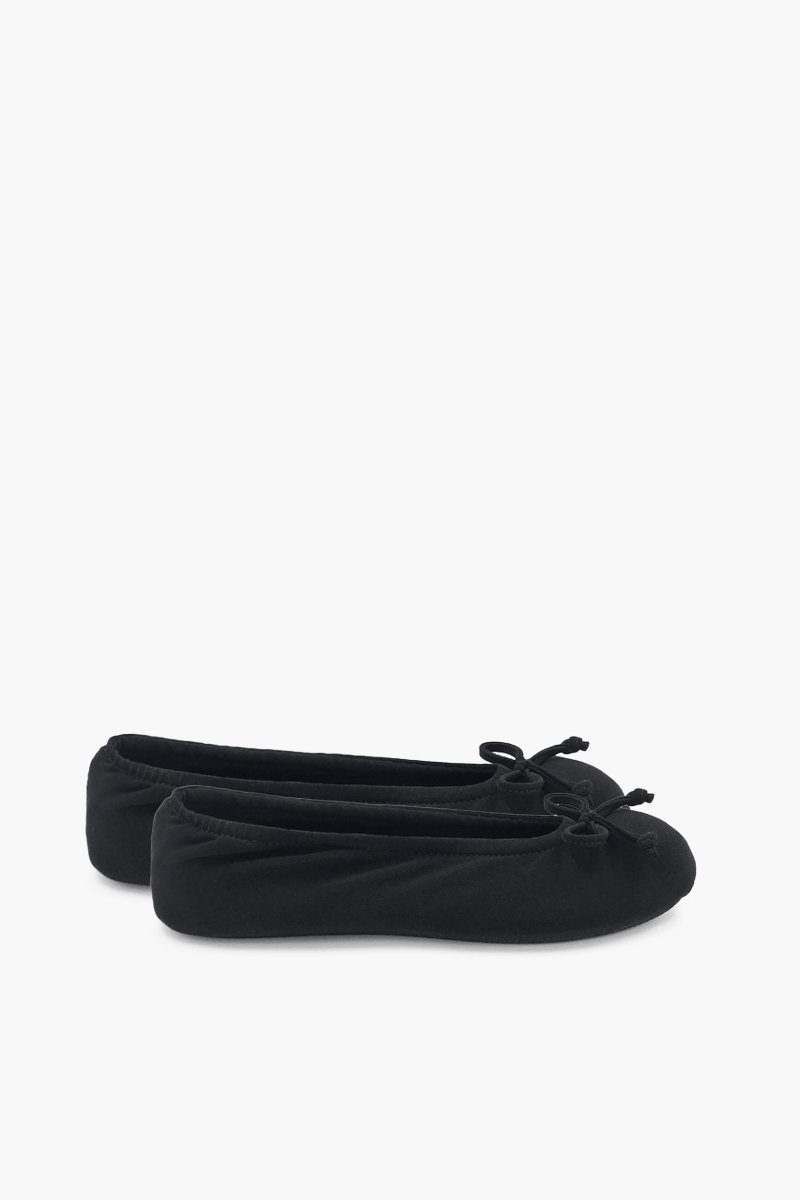 Women's Black Ballerina Slippers