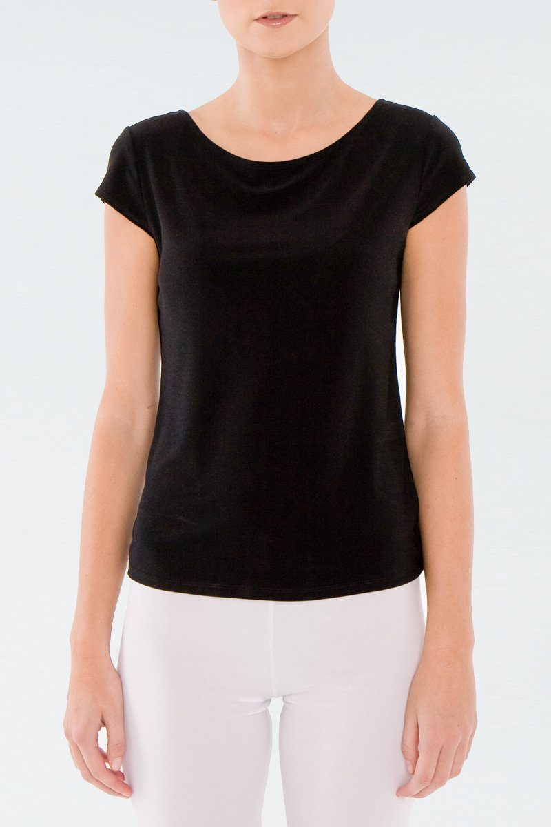 Women Basic T-Shirt Black