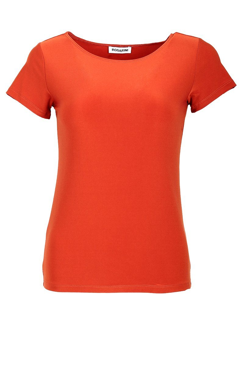 Women's Sunset Basic T-Shirt Short Sleeve Rosarini