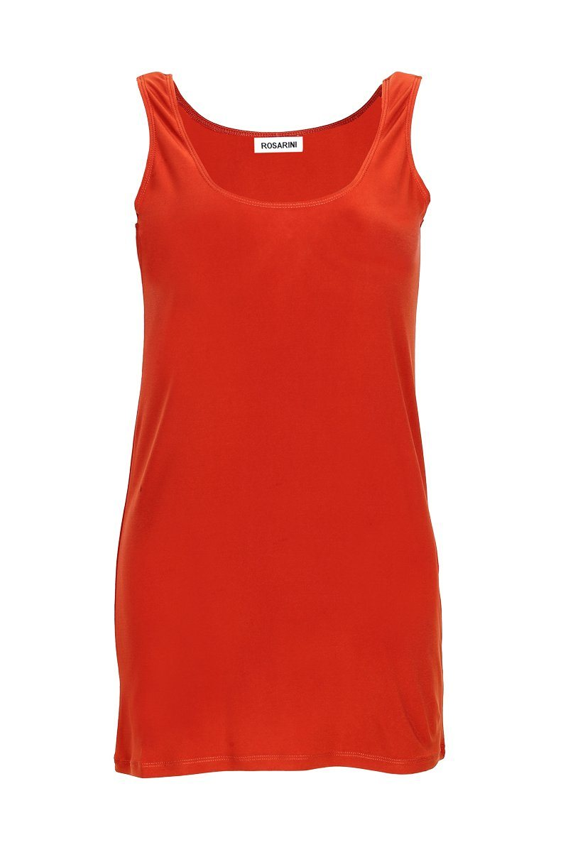Women's Sunset Long Line Singlet Rosarini
