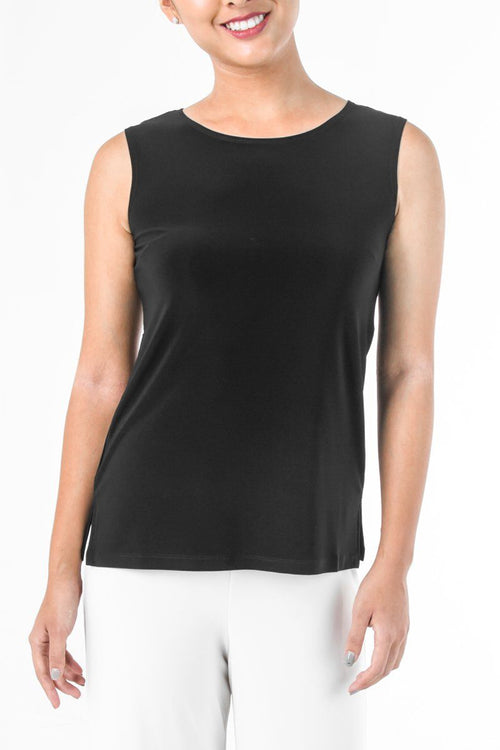 Women's Black Basic Shell Top Rosarini