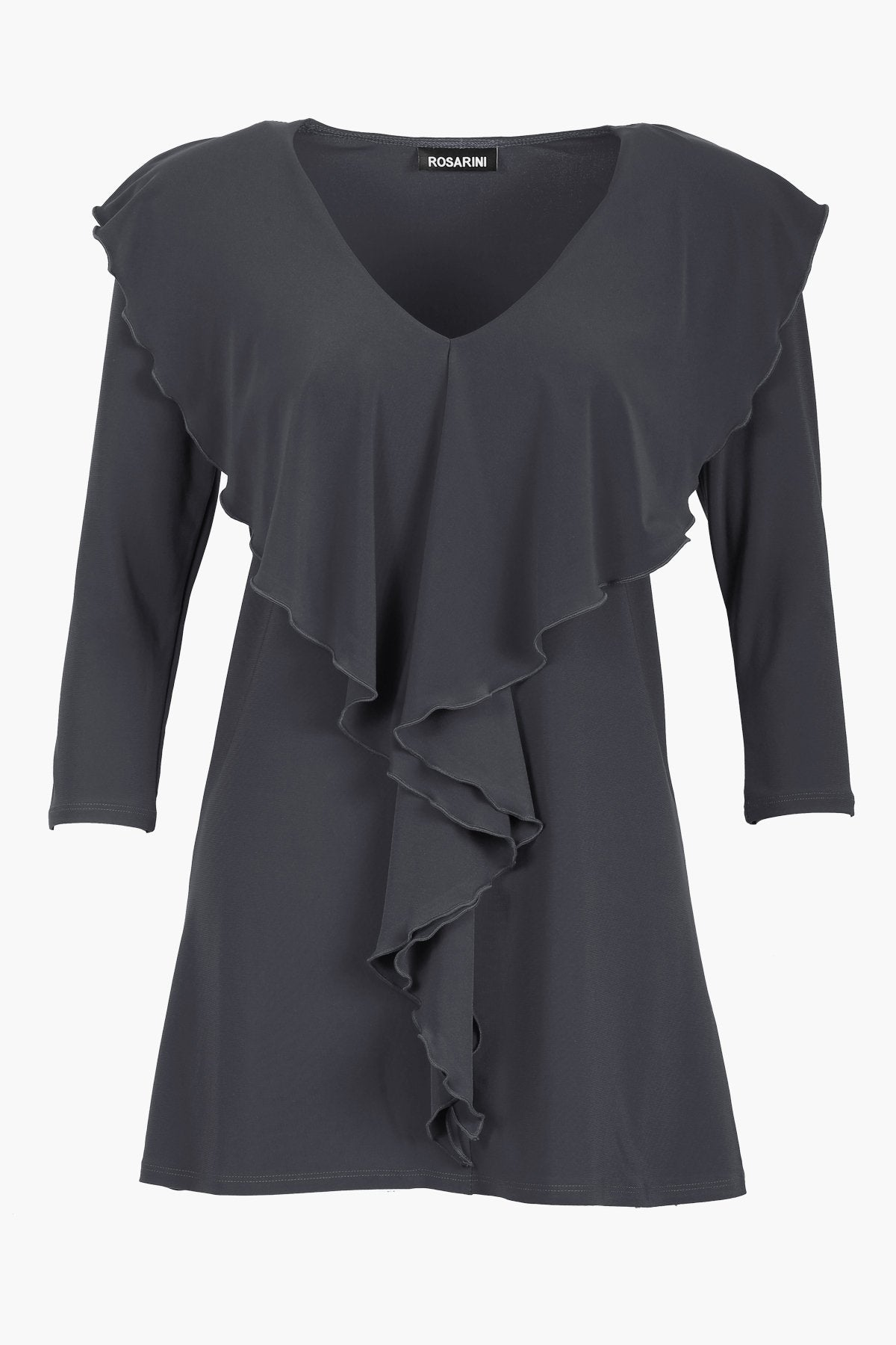 Ruffle Top - Women's Clothing -ROSARINI