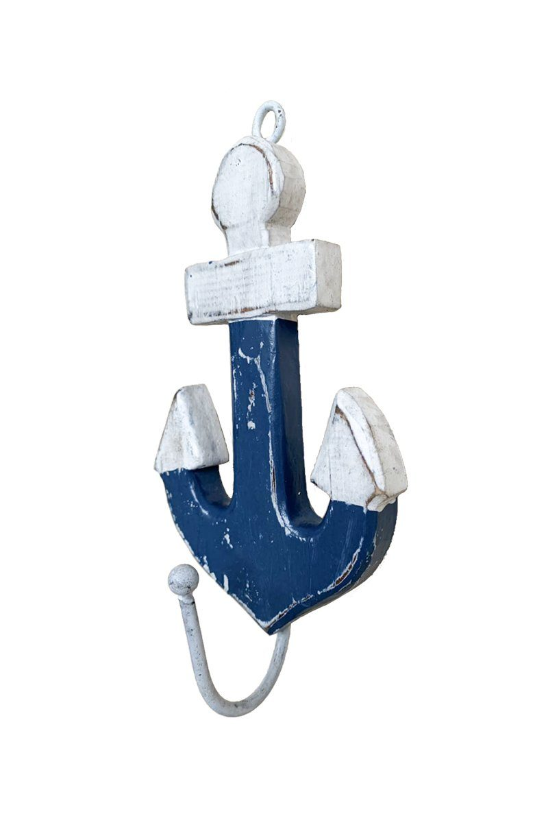Anchor Wooden Wall Hook