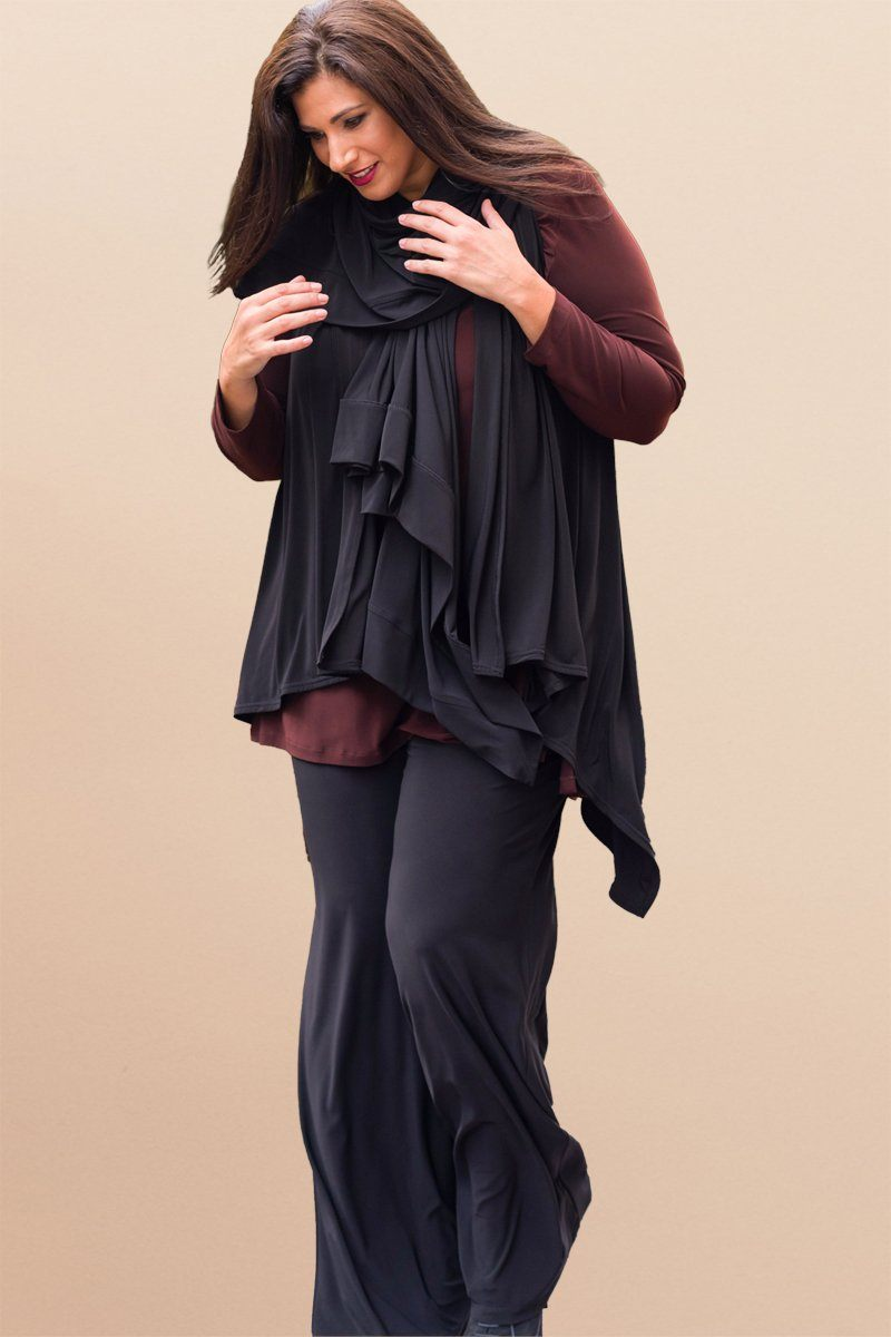 Women Plus Size Wide Leg Pants
