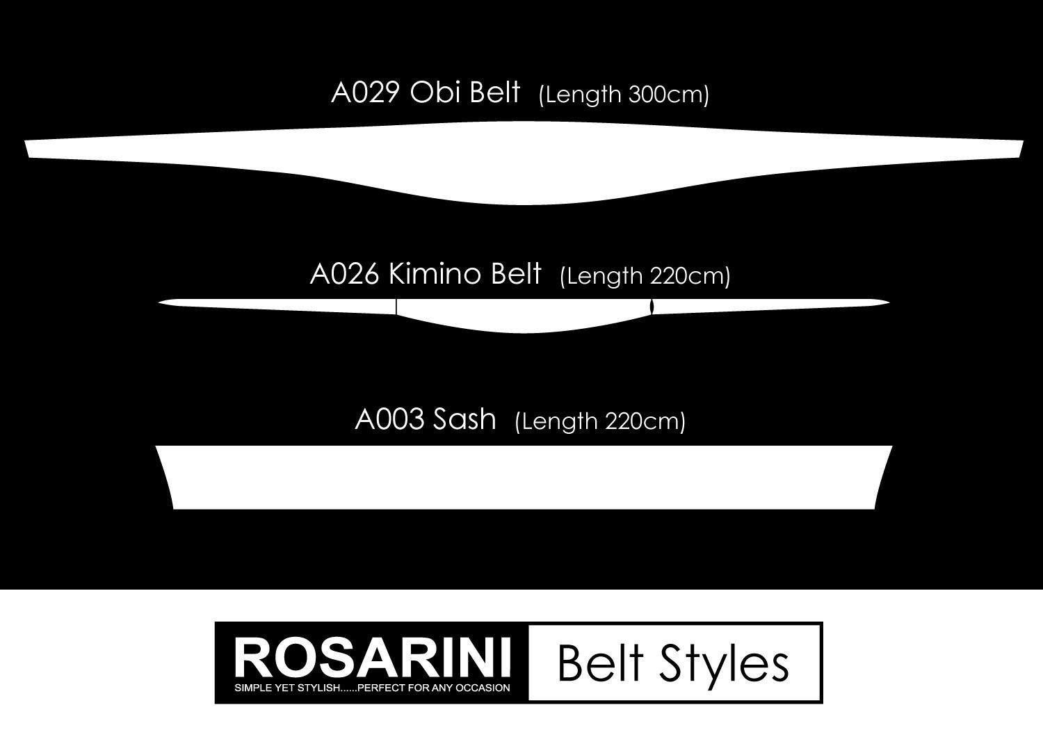 Sash - Women's Clothing -ROSARINI