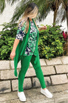 Women's Green Jade Leggings