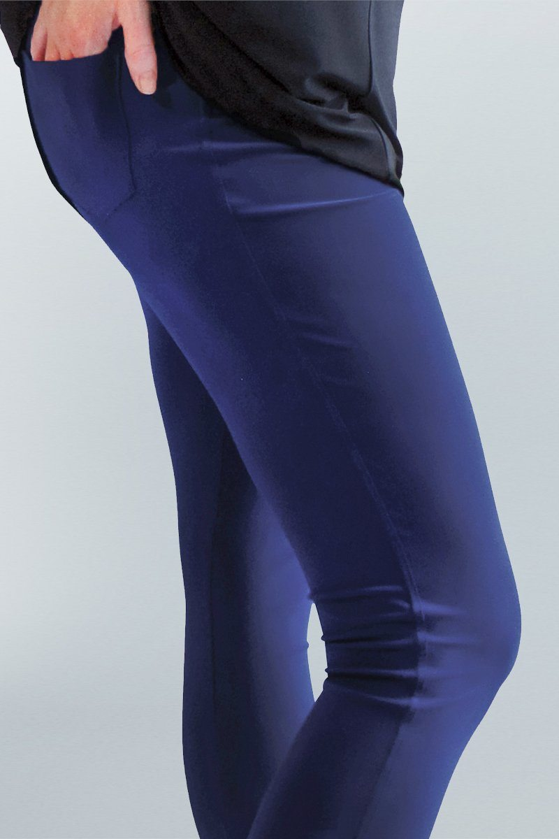 Cropped Pocket Pants - Women's Clothing -ROSARINI