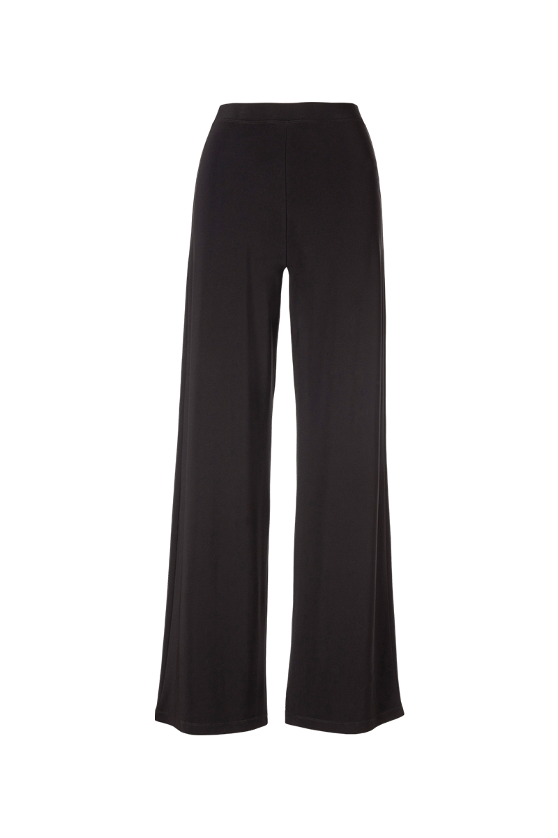 Essential Wide Leg Pants Black