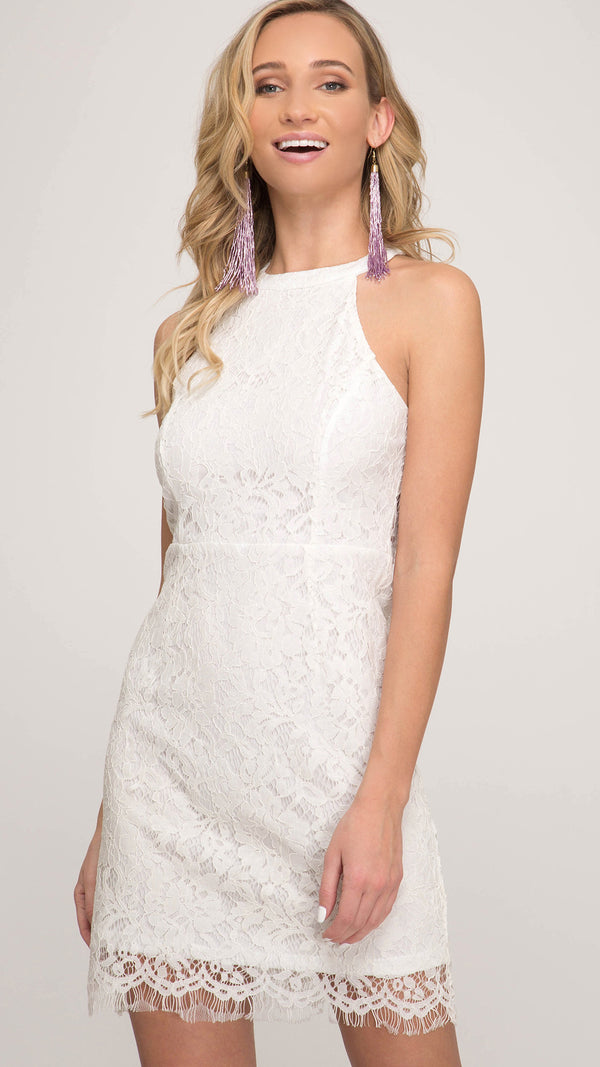 Esme Dress White
