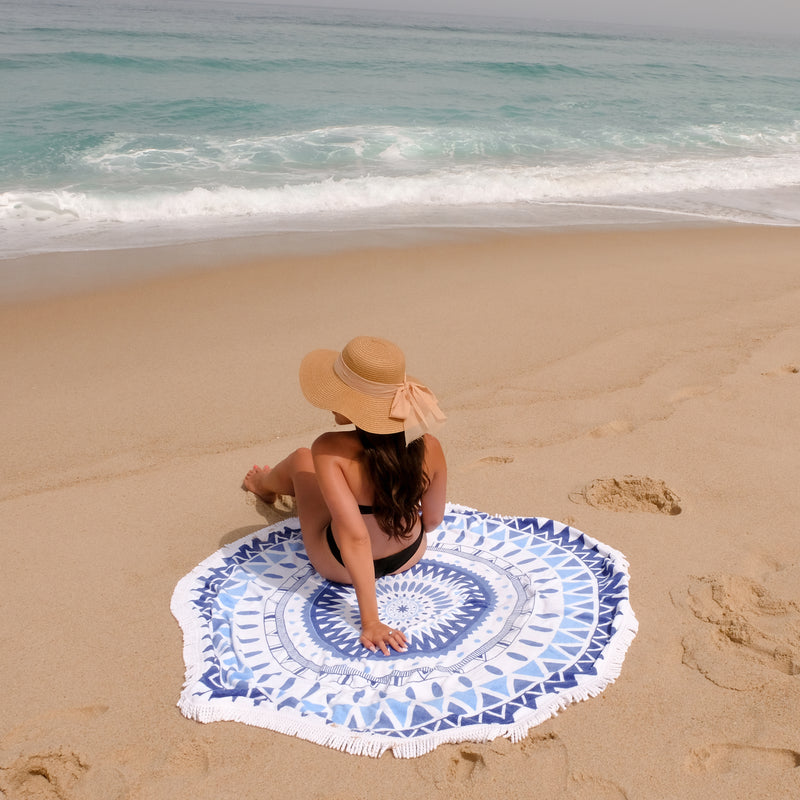 Roundie Beach Towel