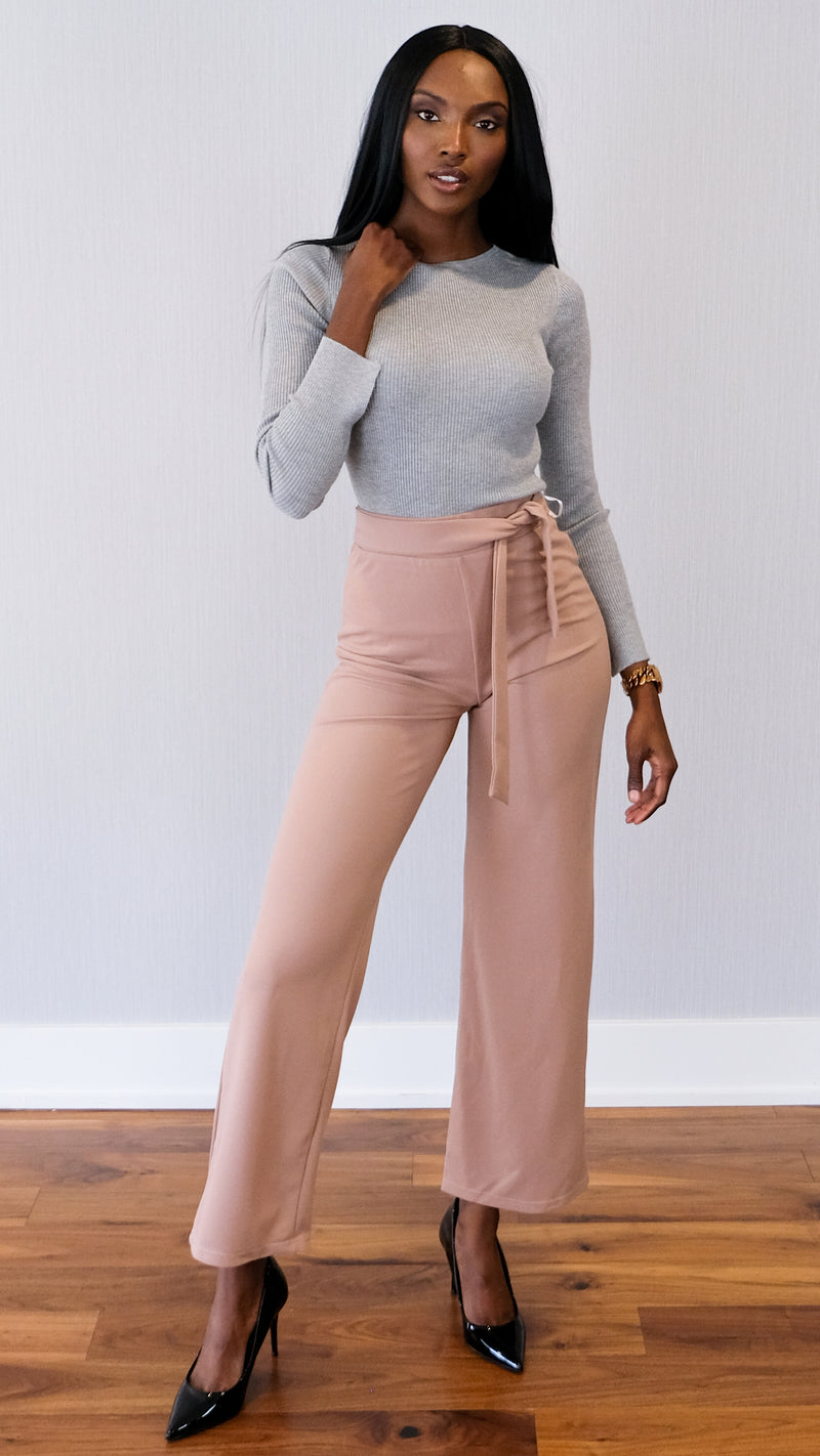 Change the World Pants in Mauve