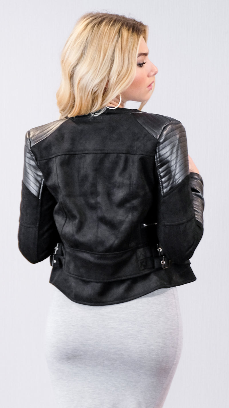 Like Never Before Jacket in Black
