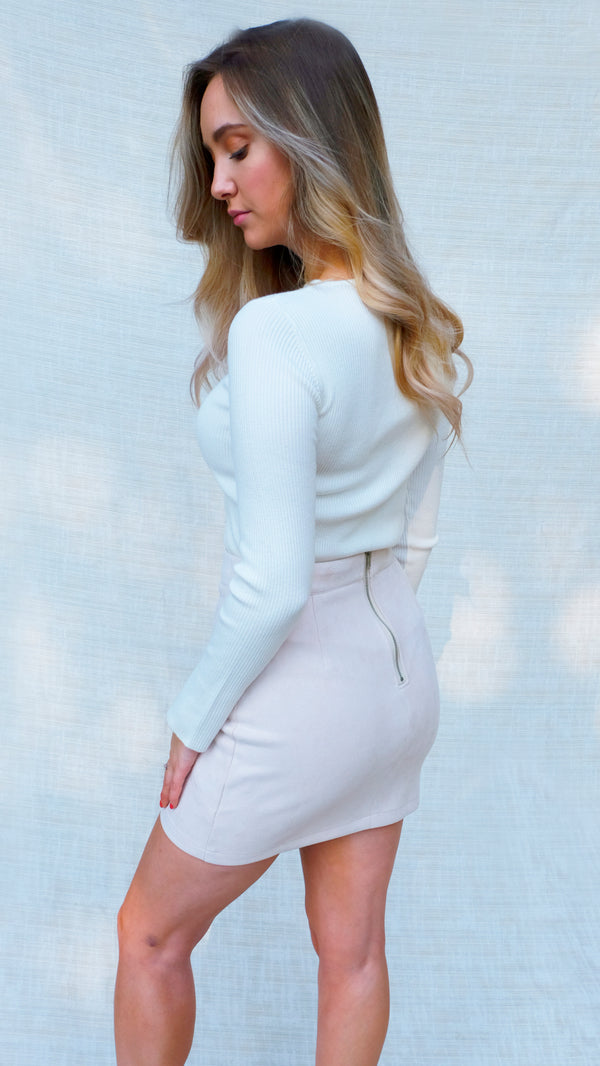 Soft Touch Skirt in Blush