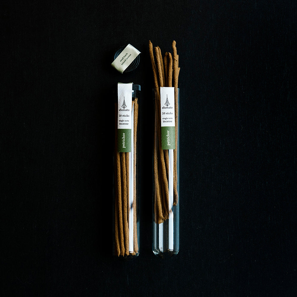 Petrichor Natural Incense