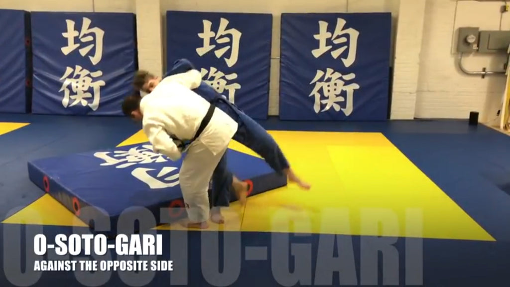 O-Soto-Gari for Opposite Side Opponents