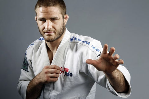Travis Stevens in a tiny judogi