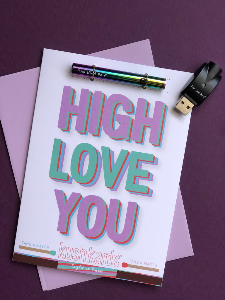 Kind Pen Twist - Iridescent / High Love You KushKard