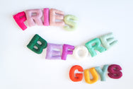 Fries Before Guys - Letter Garland