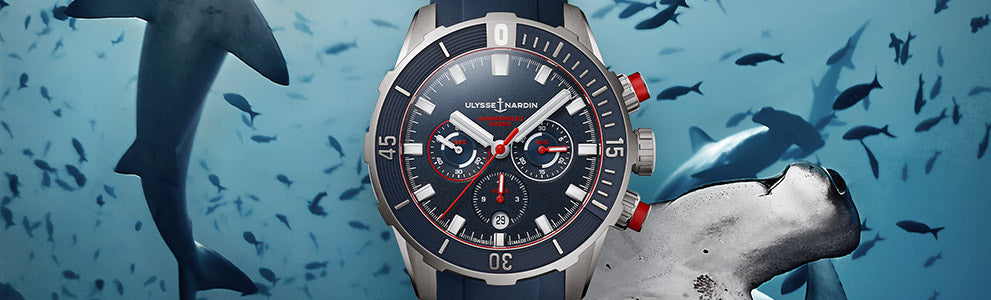 New Diver Chronograph Fleet Propels The Revitalized Ulysse Nardin Diver Collection