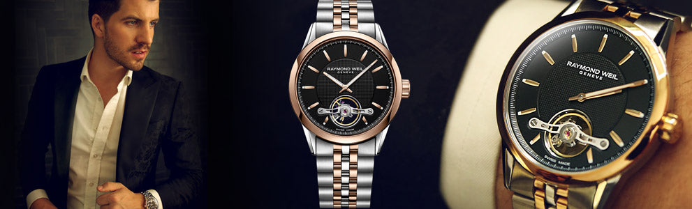 Matt Price for Raymond Weil