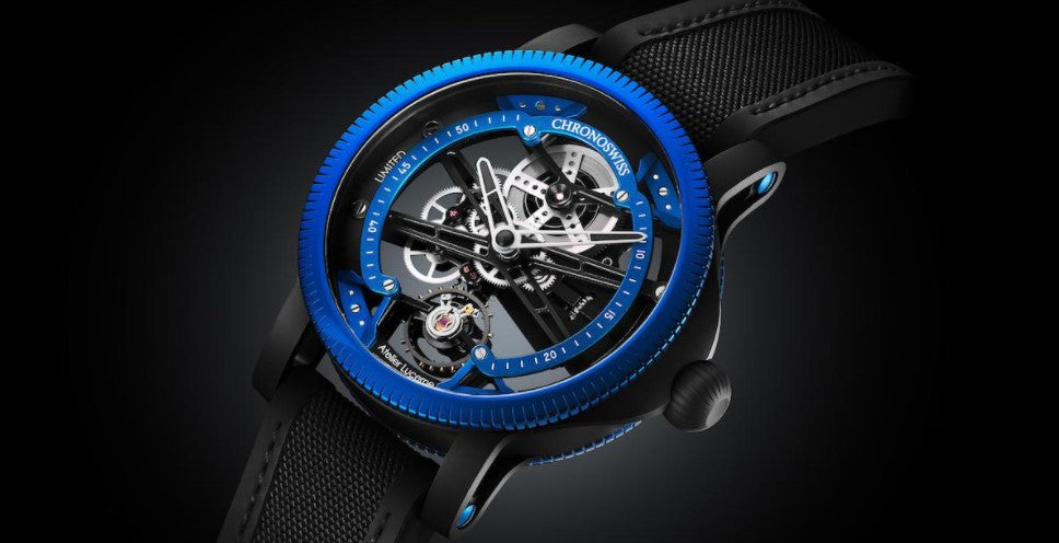CHRONOSWISS GETS CREATIVE & COLOURFUL WITH BOLD 2021 WATCH RELEASES. BY DMARGE