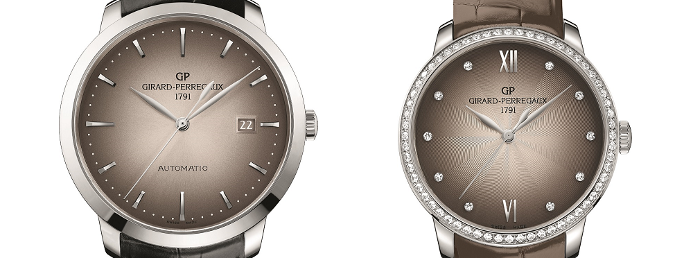 Elegance and precision. Two new models join the Girard-Perregaux 1966 Collection