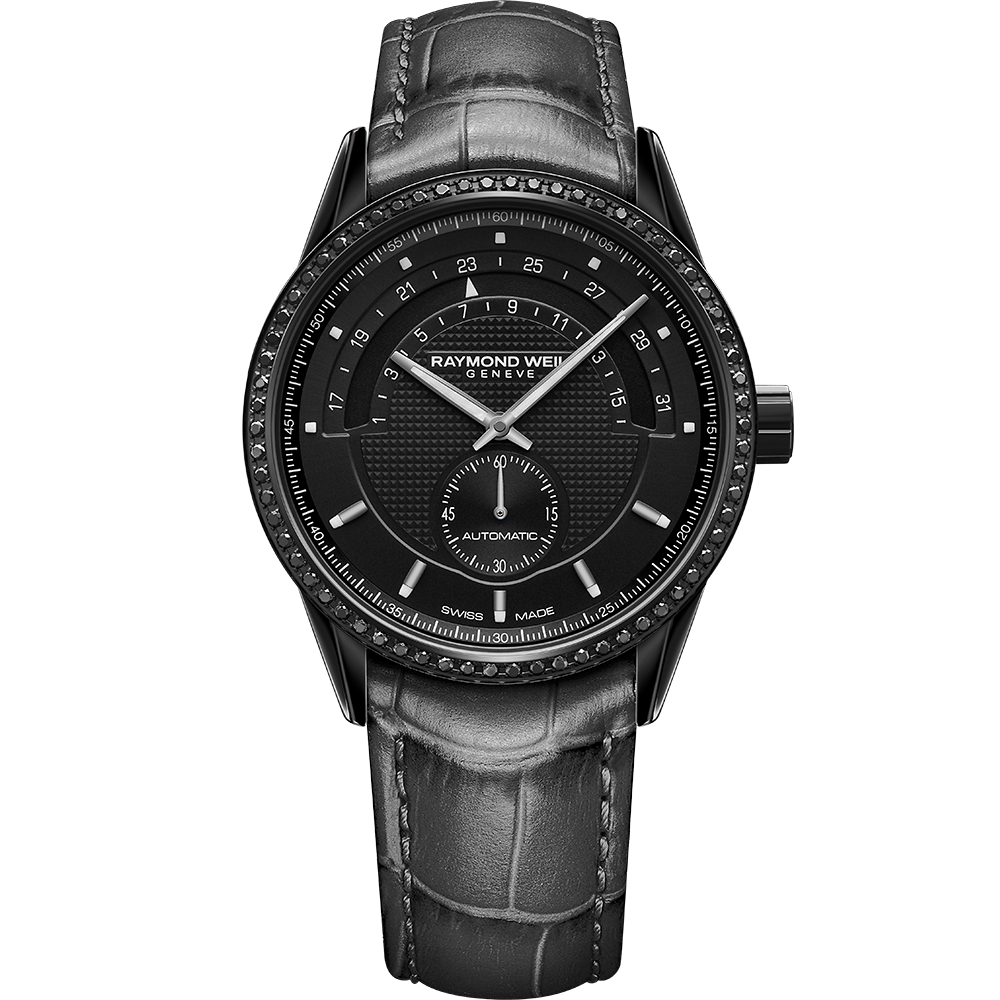 Raymond Weil Freelancer Ladies Black Diamond - AVSTEV Group