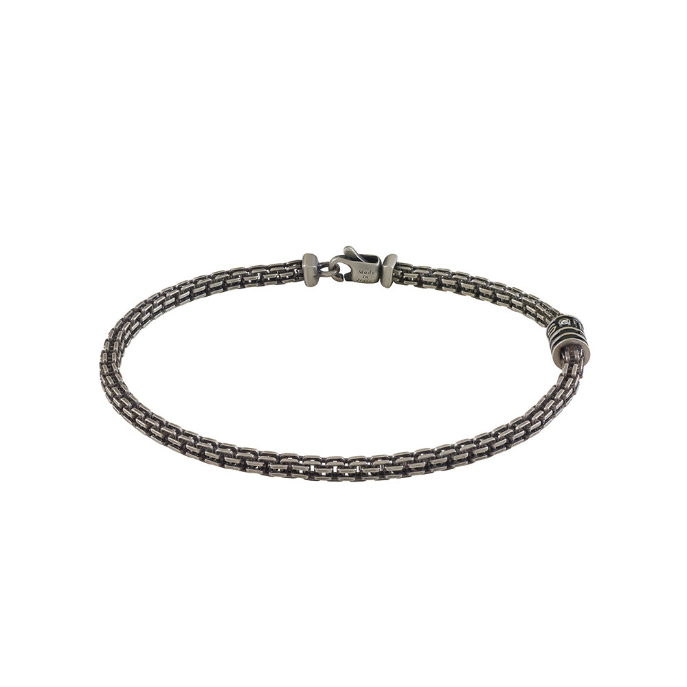 Salvini FUNKY Silver Bracelet with Diamond