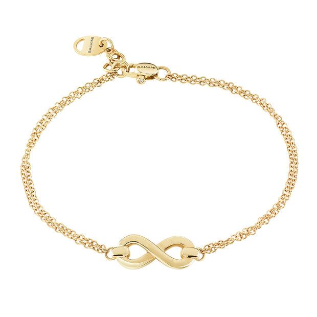 Salvini INFINITO Yellow Gold Bracelet