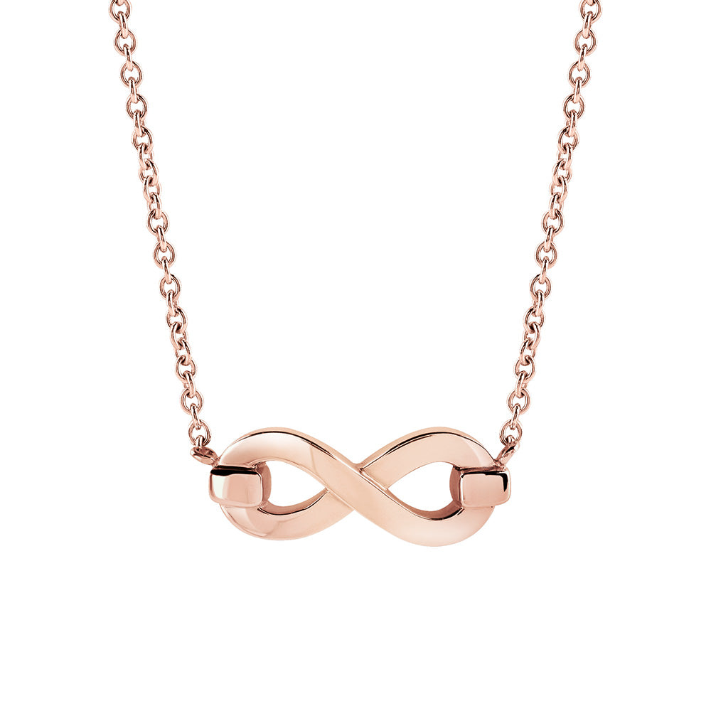 Salvini INFINITO S Rose Gold Infinity Necklace