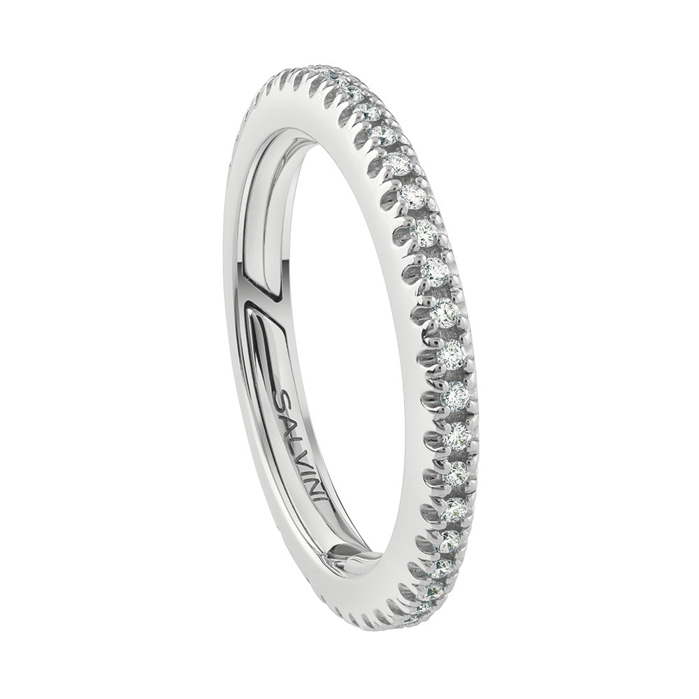 PER SEMPRE Full Diamond Eternity Band