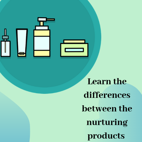 LEARN THE DIFFERENCES BETWEEN THE NURTURING PRODUCTS