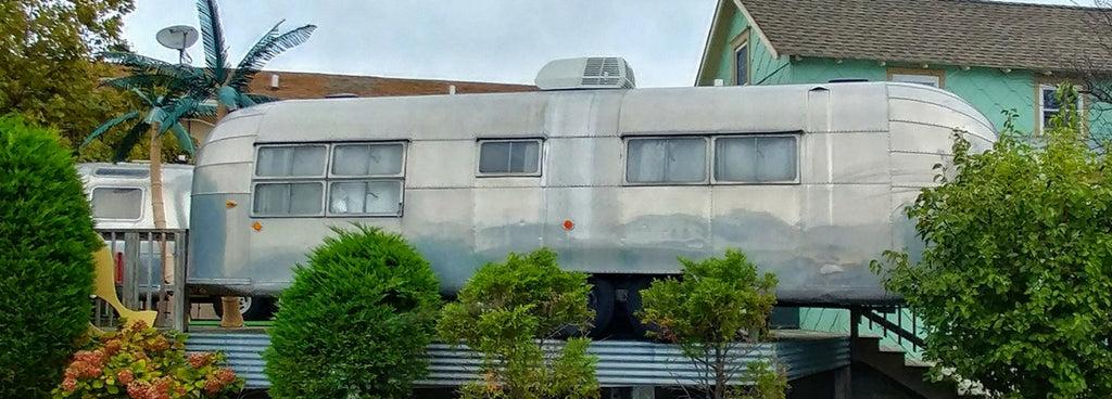 An Escapade at The Starlux Motel in Wildwood, NJ - Part 2. The Airstream
