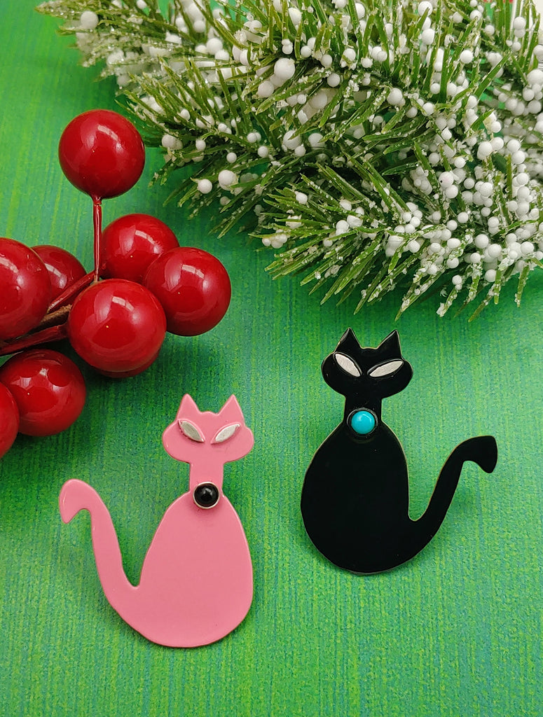 Cat Brooches/Pins!