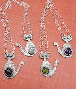 MEOW!!! New Mid-Mod Cat Necklaces Are Here!