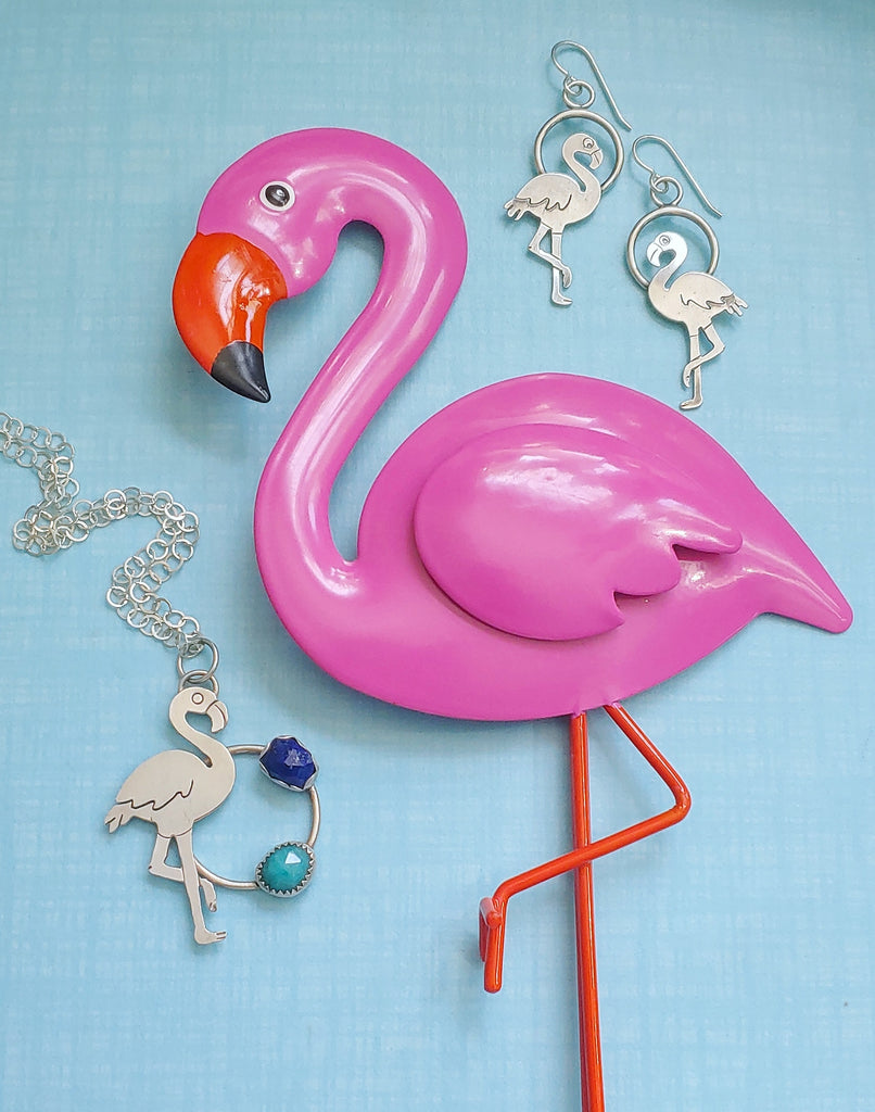 When A Clearance Bin Flamingo Meets His Likeness in Sterling Silver