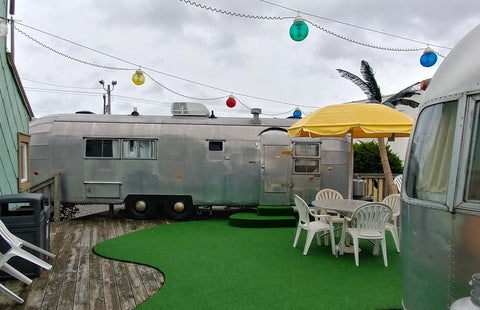 Airstream Trailer at the Starlux Motel in Wildwood, NJ