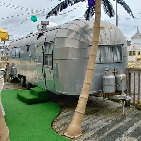 Another view of Airstream Trailer Starlux Motel Wildwood NJ