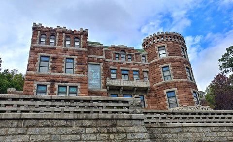 Front view of the Lambert Castle in Paterson , NJ