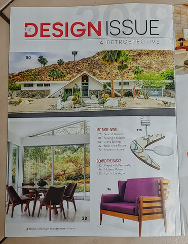 Atomic Ranch design issue table of contents