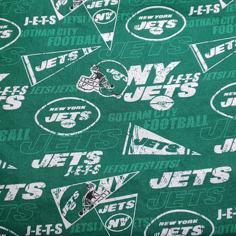 New York Jets Fabric Face Mask