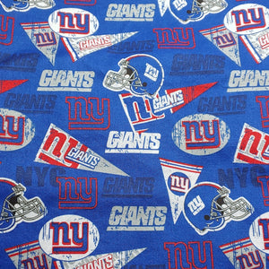 New York Giants Reversible Fabric Face Mask