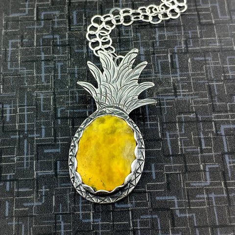 Custom Pineapple Necklace