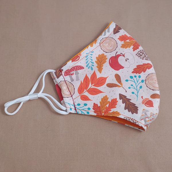 Autumn Woods Fabric Face Mask
