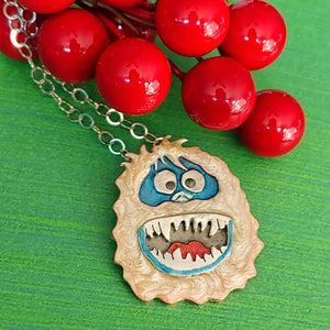 Bumble the Abominable Snowman Necklace
